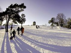 Winter wonderland: Kaivopuisto is Helsinki's oldest park