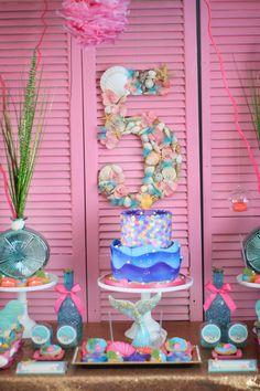 Mermaid Princess Birthday Party.