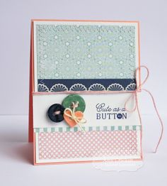 April SOTM Cute as a Button Card by Amy Crockett, #Cardmaking, #StampoftheMonth, http://tayloredexpressions.com/kits.html