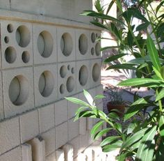 Decorative Concrete Block Designs. Create a mold and make your own.