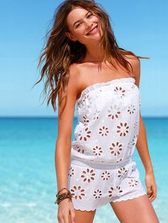 Beach Sexy NEW! Daisy Eyelet Romper #VictoriasSecret http://www.victoriassecret.com/swimwear/new-arrivals/daisy-eyelet-romper-beach-sexy?ProductID=90614=OLS?cm_mmc=pinterest-_-product-_-x-_-x