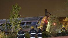 5/11: Amtrak Train From Washington Bound For NYC Crashes In Philadelphia