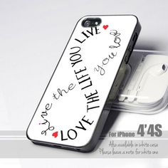 Love Life Infinity 4 Design for iPhone 4 or 4s Case