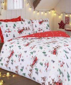 santa sleigh bedding set