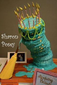 Sleeping Beauty cake! love this!