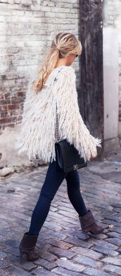 Frange: tendenza moda autunno inverno 2015