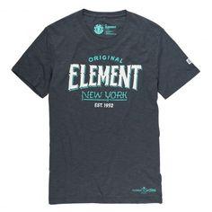 Element New York SS tee-shirt off black 35€ #element #elementskate…