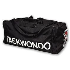"""ProForce TaeKwonDo Grande Gear Bag by Pro Force. $37.77. Made of a heavy 60D fabric, these new bags from ProForce are very durable. Four zippered compartments offer plenty of room. Detachable and adjustable shoulder strap. 32"""" x 14"""" x 14"""". Yin & Yang or Taekwondo logos Handling Fee Notification  This products shipping cost now includes a $10 per order handling fee to cover added handling costs from our supplier, and is included in the shipping costs displayed on Ama..."""