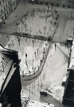 the lost world... now in winter (Moscow in 1927)