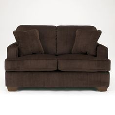 Atmore - Chocolate Loveseat by Signature Design by Ashley
