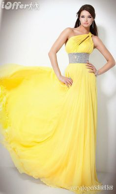 yellow desses   Yellow Dresses – Yellow Prom Gowns   Promgirl.net