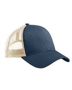 Eco Trucker Hat 70% certified organic cotton, 30% recycled polyester; 6-panel, structured with curved bill; adjustable plastic closure; every purchase supports environmental non-profit organizations;organic product mens clothing, organic cotton clothing, designer clothing FREE SHIPPING