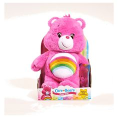 Care Bear Medium Plush with DVD - Cheer