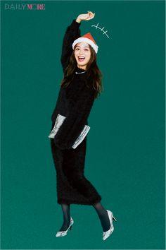 c2bce33f5f108  今日のコーデ/内田理央 仲間で集まるクリスマスイヴは女っぽブラックで差をつけて♪. ドレスキャンバス