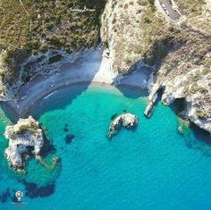 Kythira island, Kaladi Beach, Ionian Sea, Greece