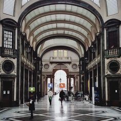 The Galleria San Federico is a little pearl in the city centre.  #turin #torino #italy #travel #instagram #photography