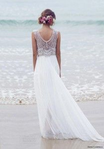 Casamento na praia - vestido de noiva