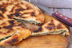#Pizza rustica di #scarole e olive in padella #natale