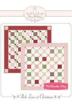 Park Lane at Christmas Quilt Pattern<BR>Bunny Hill Designs