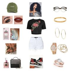 """A Day Out ♥👫💍❣"" by toriitheroyal on Polyvore featuring LE3NO, Michael Kors, Casetify, Givenchy, Juicy Couture, Vans, ABS by Allen Schwartz and Amber Sceats"