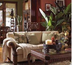 Tommy Bahama Sofa - tropical sofa