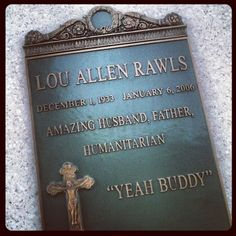 """Mr. Lou Rawls! """"You'll never find..."""""""