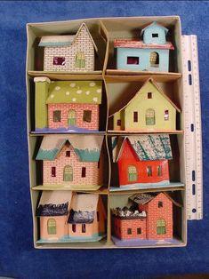 Casas en una caja