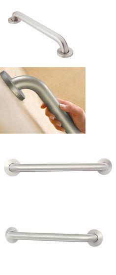 Handles and Rails 171537 2Piece 30Cm Shower Bath Grab Bar Grip