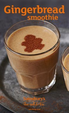Gingerbread flavours in a smoothie. What could be more delicious? This Christmas drink packs a festive punch and the secret ingredient? Sweet potato!