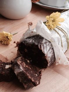 Salame al cioccolato ricetta classica piemontese