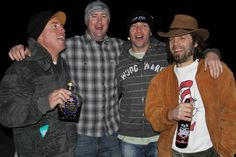 Brian Blyther Celebrated his 43rd birthday with Dave Voelker, Mike Dominguez and Ron Wilkerson! (2011)