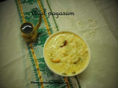 Remmy's Kitchen: Aval payasam/Rice flakes Kheer