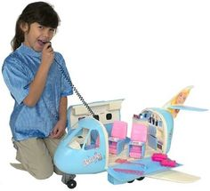 I remember the year i got the barbie plane! Barbie Plane, Barbie 90s, Barbie And Ken, Barbie Dolls, Barbie Stuff, Barbie Games, 90s Childhood, Childhood Memories, Electronic Toys