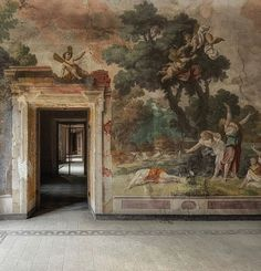 Marco Mansi (@marco_mansi_) • Instagram photos and videos Palazzo, Old World, Fresco, Interior Inspiration, Im Not Perfect, Interior Decorating, Sculpture, Photo And Video, Painting