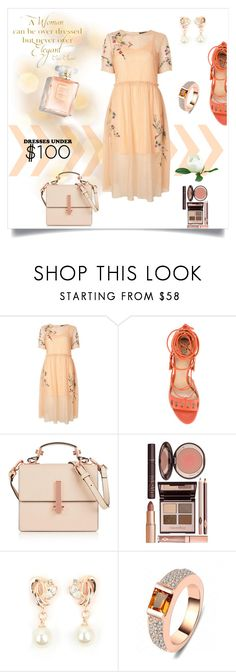 """Under $100: Summer Dresses"" by freida-adams ❤ liked on Polyvore featuring Chanel, Topshop, Paula Cademartori, Kendall + Kylie and Charlotte Tilbury"