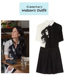 I'm such a fan of whoever does the styling Lucy Liu as Joan Watson inElementary