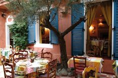 Le Sud (The South), Paris. The restaurant serves the most wonderful food in the style of the south of France.