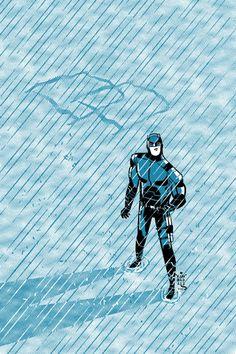 Daredevil by George Kambadais Comic Book Artists, Comic Books, Daredevil Elektra, The Man, Marvel Comics, Draw, Vertigo, Dark Horse, Artwork