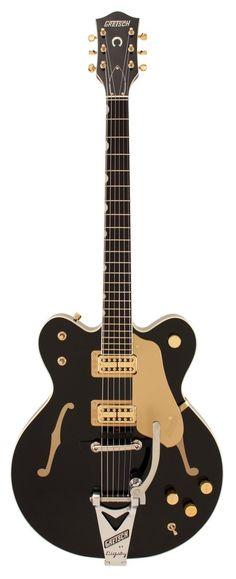 Gretsch G6120DC Chet Atkins Black Electric Guitar   Rainbow Guitars