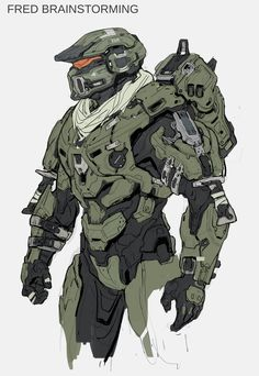Here's A Ton Of Concept Art From Halo 5