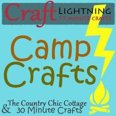 Craft Lightning Camp Crafts - Make a Sleeping Bag Potlatch (Girl Scout Swap) - 4 You With Love