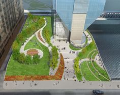 150 North Riverside Plaza Public Space Is An Important Aspect To Any City.  Across The Globe, We Can See Cites Adapting, Such As Constructing Gardens  In ...