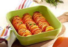 Tian Pompadour et tomatesDécouvrez la recette du tian Pompadour et tomates
