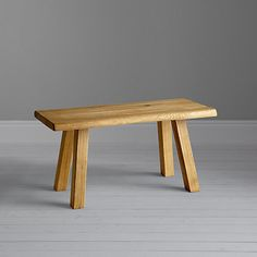 Buy John Lewis Croft Collection Glendale Dining Bench Oak From Our Benches Range At