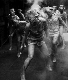 Silent Hill - These nurses were so creepy and awesome! Might be a sick Halloween costume one day...