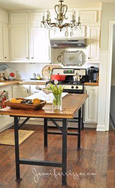 Kitchen Island Using Toolbox