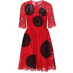 Dolce & Gabbana Lace Dress (60 335 UAH) ❤ liked on Polyvore featuring dresses, red, red cocktail dresses, lacy dress, red dress, red lace cocktail dress and lace cocktail dress