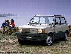 Car minimalism! The 1980 Fiat Panda