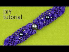 ▶ Big Eye Macrame Bracelet Tutorial - YouTube