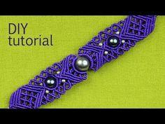 ▶ Big Eye Macrame Bracelet Tutorial - YouTube